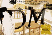 DIY Wedding Ideas / by Party Bluprints Inc.