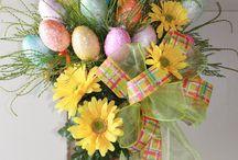 Arreglos,tarjetas y felicitaciones Pascua.
