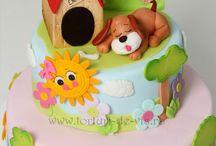idee torte animali e natura