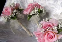 Wedding bouquets/boutonierre