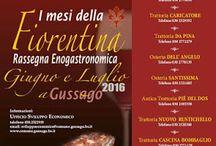 I Mesi della Fiorentina, rassegna gastronomica Giugno e Luglio Gussago (BS)