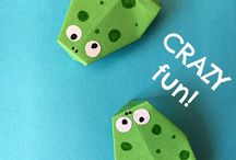 Projects to try / Origami frog