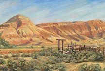 Colorado Landscape Paintings by Artist Nancee Jean Busse / Colorado Landscape Paintings by Artist Nancee Jean Busse