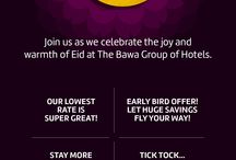 Events at Bawa Hotels / Celebrate your special days with us and we'll help you make it an experience to remember.