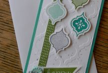 Stampin up / Card ideas using Stampin' Up! Products.