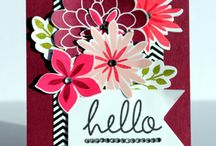 Stampin Up - Flower Patch