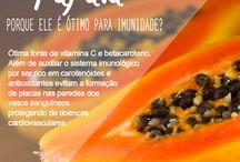 Pitadas de Saúde / Alimentos que ajudam na Saúde!