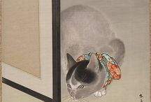 "The Cat: Muse, Symbol, Deity / ""If a fish is the movement of water embodied, given shape, then cat is a diagram and pattern of subtle air.""—Doris Lessing, English writer / by Metropolitan Museum of Art"