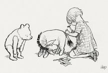 Oh bother! / Winnie-the-Pooh is an all-time favorite of mine. I used to sketch the drawings as a kid. I would of loved to have had a quote from that book on my bedroom wall growing up.