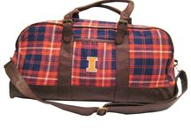 Illinois Fighting Illini / Premium custom University of Illinois hats, bags, scarfs and accessories by The Honour Society.