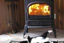 Fireplace Funnies / A little bit of fireplace fun.