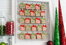 Creative Ways to Countdown to Christmas 2015 / Instead of your usual advent calendar, why not try something a little more personal. Try some of these handmade ideas to share with your family this Christmas.