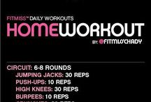 At home workouts / by Melanie Robert
