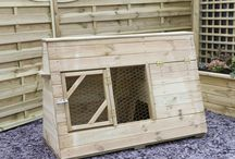Animal Houses / We offer a wide range from chicken coops, rabbit hutches and runs, aviaries and dog kennels. A high quality garden product.
