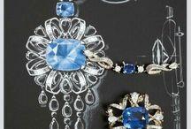 Gouachés bijoux