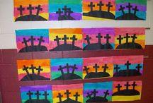 Teaching- Easter art