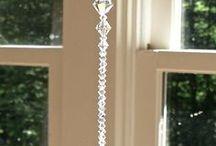 Swarovski  crystal ablakdíszek,figurák