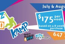 Countdown to Summer! / Summer Camp is coming up quick, so here are the Top Ten Reasons to Join our Summer Kamp!