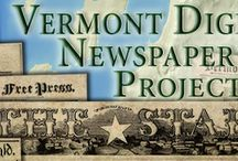 VTDNP Outreach Materials / by Vermont Digital Newspaper Project/VTDNP