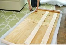 Create a headboard for bed