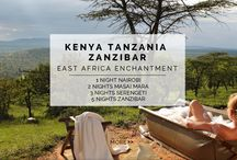 Experience - East Africa Enchantment / Embark on the ultimate East African couples retreat. Each of our hand-selected properties offer their own unique 5 star themed experience. From venturing out on a safari to relaxing on island shores - get ready to be enchanted on this 11 NIGHT / 10 DAY ROMANTIC GETAWAY.