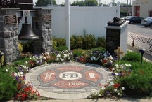 Memorials/ Tributes/ Fireman's Maltese Crosses / PAVERART is ideal for honoring the courage and dedication of our Heroes (soldiers, first responders, firefighters, and police). We have designed and fabricated numerous Fireman's Maltese Crosses which have been used for memorials and firehouse markers. They can be customized for any project and come in a wide range of styles, colors and sizes to fit your specific needs.