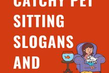 Pet Sitting Slogans and Taglines