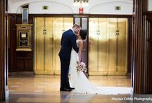 Brass on Baltimore | Kansas City / Wedding Inspiration for the Brass on Baltimore including flowers, lighting, fabric and design details from real weddings.