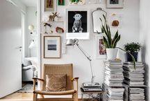 Bilder an der Wand ausstellen