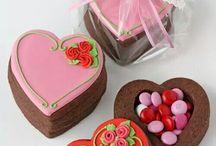 sevgililer günü kurabiye kek