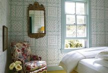 Bedroom Decorating Ideas / All the details you need to make your bedroom a sanctuary.