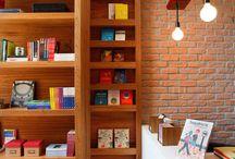 ESTANTES / Ideias para  arrumar e decorar sua estante.