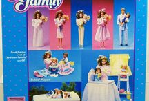 1984 Barbie Heart Family