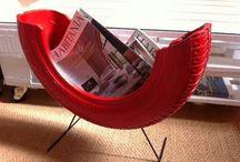 Ideas Diy con Neumaticos / Ideas low cost que puedes hacer tu misma para decorar tu hogar con neumaticos reciclados