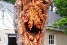 Práca s drevom