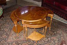 Le bois d'if / tables gigognes