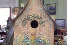 Lovely birdhouses