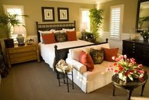 master bedroom designs red