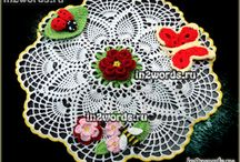 Салфетки, вазочки, композиции для дома от in2words.ru / Doilies. Free patterns from in2words.ru