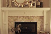 fireplace / by Michelle Risdon