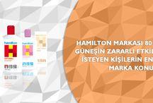 Hamilton / Hamilton güneş ürünleriyle ilgili detaylı bilgilere ulaşabileceğiniz Pinterest sayfamız.
