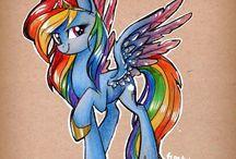 Rainbow Dash Inspirations