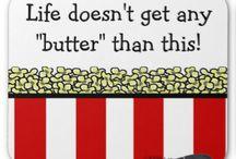 Popcorn puns