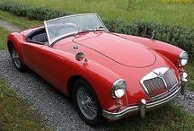 MGA 1959 / Details of the 1959 roadster model