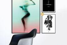 Plakatvæg inspiration