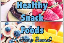 Healthy Snack Foods / Healthy snack foods is a group board that offers healthy snacks list for diet and weight loss. / by Clean Eating Recipes