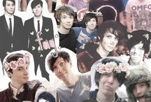 ❤️ Dan and Phil ❤️ / Dan and Phil <3 (danisnotonfire and amazingphil)