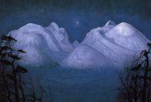 Art:Harald Sohlberg / Norwegian painter 1869-1935