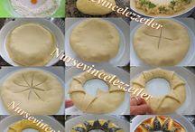 Pasta çörek salata / Yemek