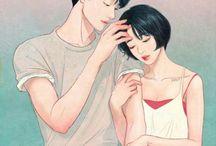 Ilustraciones coreanas